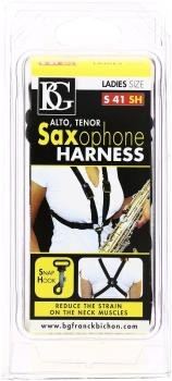 BG Saxophone Harness, Ladies Snap-hook