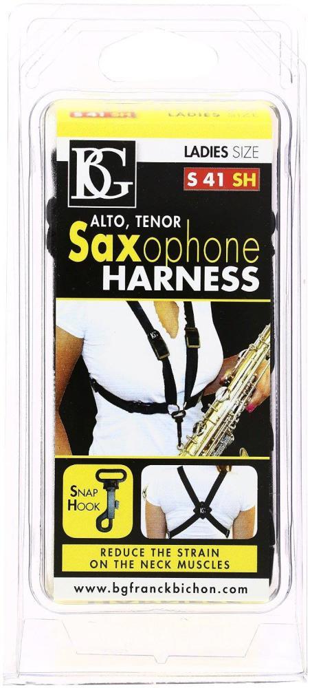 BG Saxophone Harness, Ladies Snap-hook