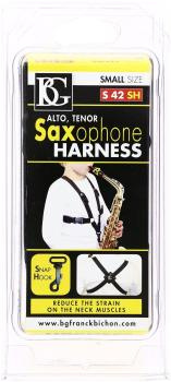 BG Saxophone Harness, Small, Snap-hook