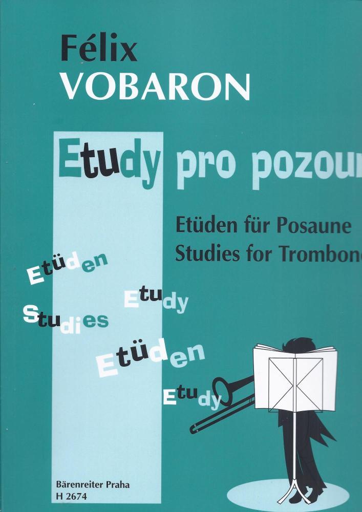 Studies for Trombone - Vobaron