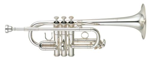 Yamaha YTR6610S Eb/D Trumpet in Silver Plate