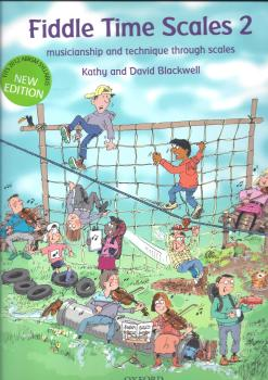 Kathy Blackwell/David Blackwell: Fiddle Time Scales 2 - Revised Edition