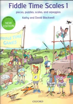 Kathy Blackwell/David Blackwell: Fiddle Time Scales 1 - Revised Edition