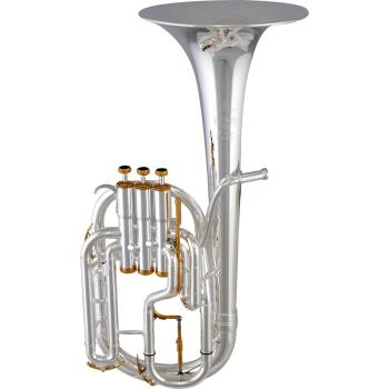 Besson BE2050-2G-0 Prestige Tenor Horn in Silver Plate