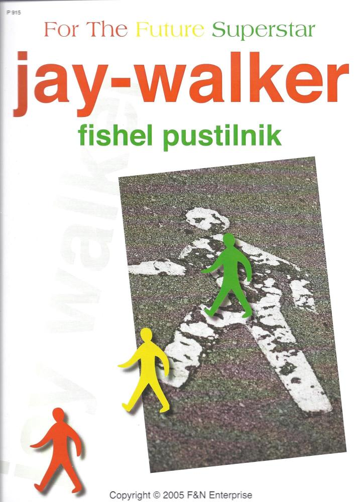 Jay-walker - fishel pustilnik for Piano