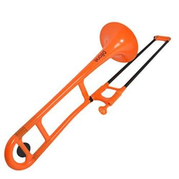 PBone PBONE1OR Plastic Trombone (Orange)