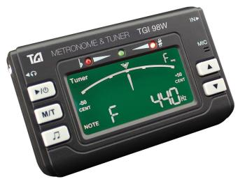 TGI Tuner for Woodwind and Brass