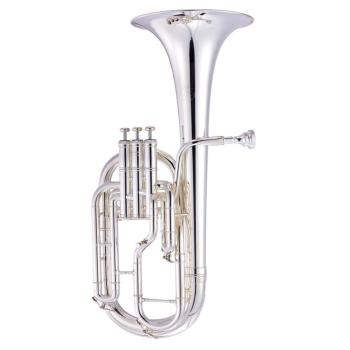 John Packer JP272S Eb Tenor Horn in Silver Plate