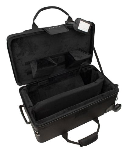 Pro Tec Pro Pac VAX Trumpet/Flugel Combo Case with wheels - Black