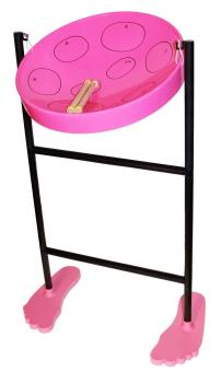 Jumbie Jam JJ1058-PK Steel Pan Kit in Pink
