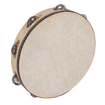 """PP PP4004 Tambourine 10"""" (25cm)"""