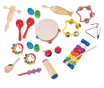 PP PK17 Preschool 16 Player Percussion Set
