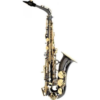 Trevor James TJ 3722BK Classic Alto Sax Black with Gold keywork