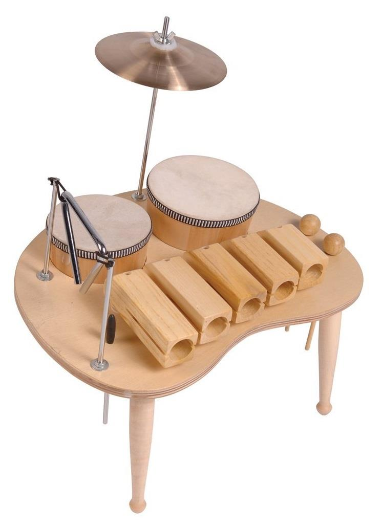 PP PP531 Wood Block Table Music