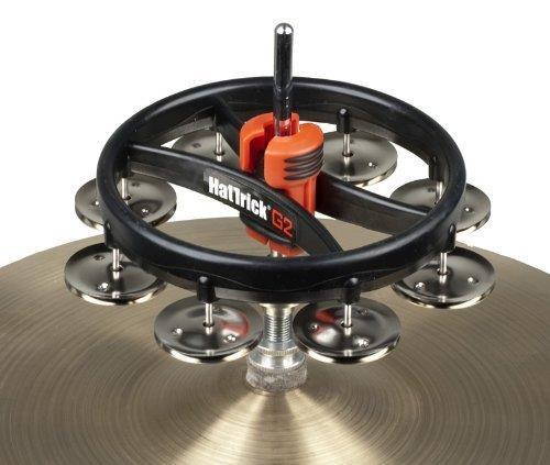 Rhythm Tech RT7420 Hat Trick Tambourine II - Nickel Jingles