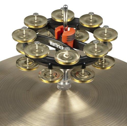 Rhythm Tech RT7423 Double Hat Trick Tambourine II - Brass Jingles