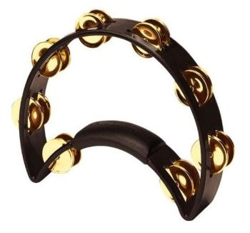 Rhythm Tech RT1011 Tambourine, Brass Jingles