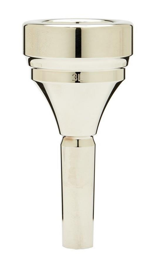 Denis Wick Classic Tuba silver plated mouthpiece - 3L
