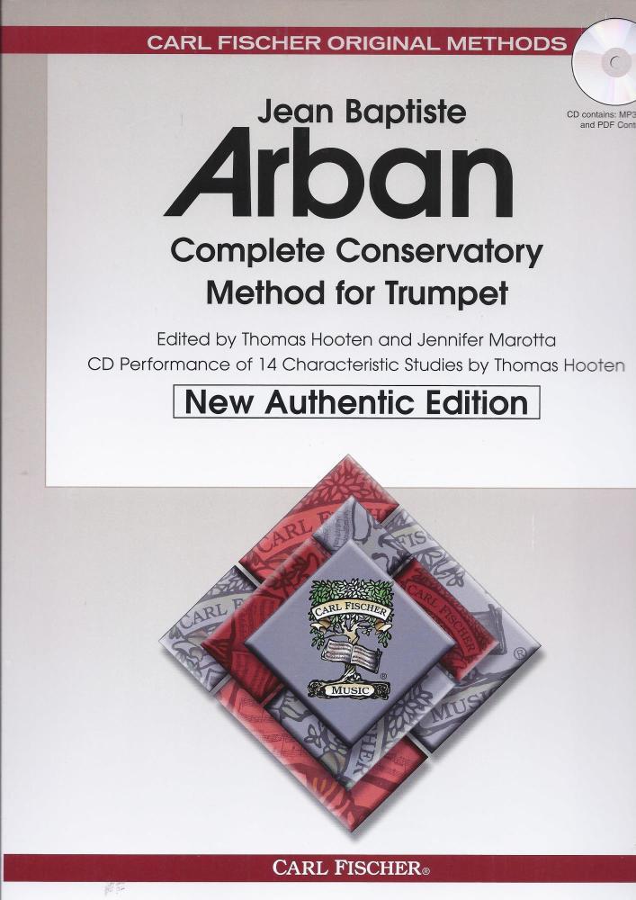 Arban Comp Conserv Method Tpt Bk/Cd