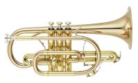 Yamaha YCR8335G02 Bb 'Neo' Cornet in Lacquer. Gold Brass Bell