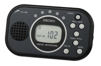Seiko Multifunction Digital Metronome
