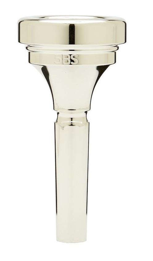 Denis Wick Trombone (all-round) silver plated mouthpiece 5BS (small shank)