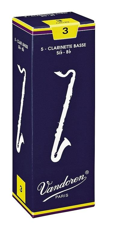 Vandoren Bass Clarinet Reed 2.5 (Box 5)
