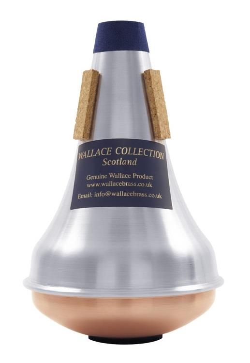 Wallace Trumpet Mute - Straight, Copper Bottom