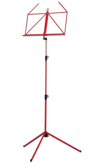 Konig & Meyer Folding Music Stand Colour - Red