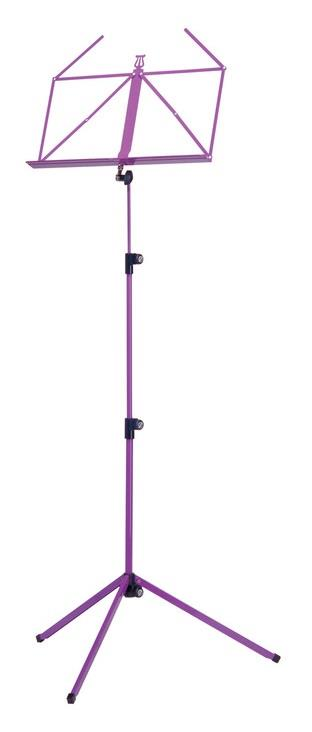 Konig & Meyer Folding Music Stand Colour - Violet