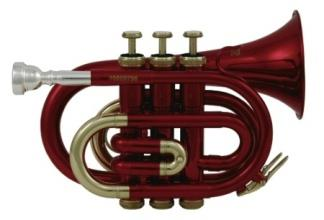 Roy Benson RB PT-101R Pocket Trumpet PT-101R Red