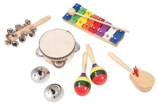 PP PK07 Music Box Inc Tambourine, Maracas, Shakers.