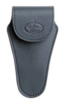 Reunion Blues Tuba Mouthpiece Pouch in Black Leather