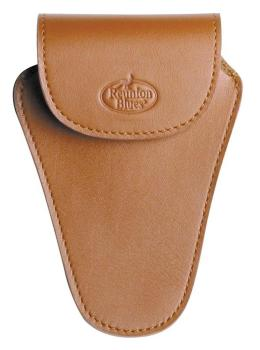 Reunion Blues Trombone Mouthpiece Pouch in Brown Leather