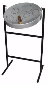 Jumbie Jam JJ1058-GY Steel Pan Kit in Grey