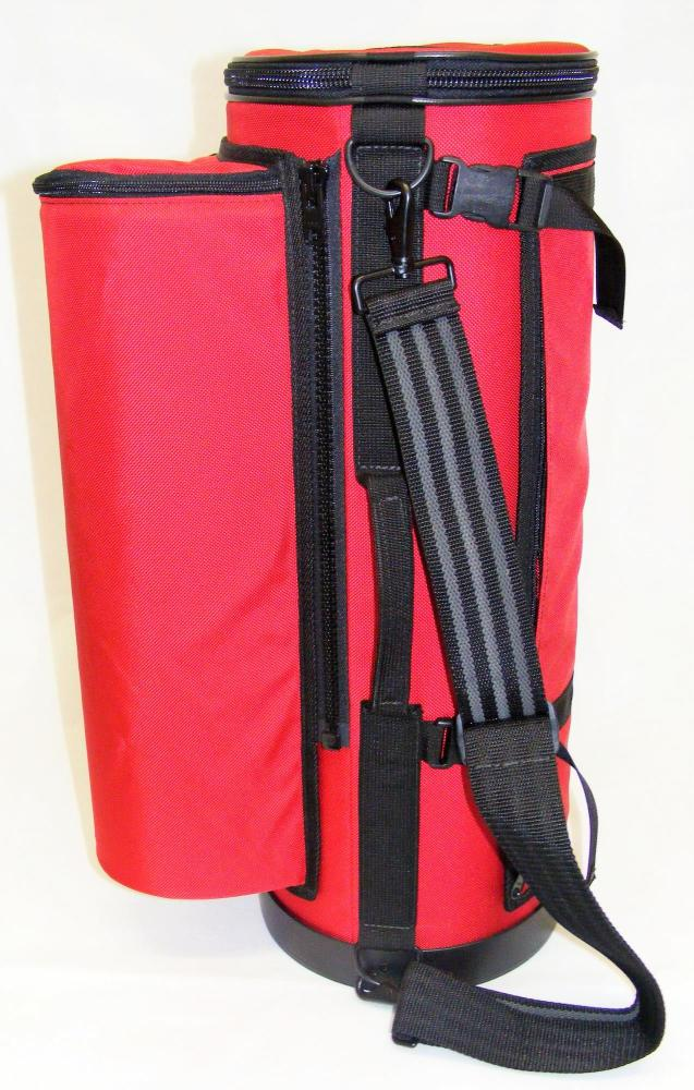 Torpedo Bags Peacemaker Trumpet Gig Bag in Deep Red