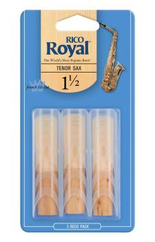 Rico Royal Tenor Sax 1.5 - 3 Pack