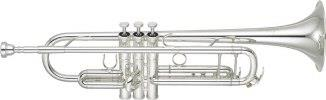 Yamaha YTR8335GS Bb NEW 'Xeno' Trumpet in Silver Plate