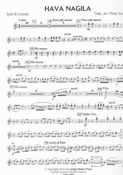 Hava Nagila, trad. arr. Philip Sparke for Brass Band