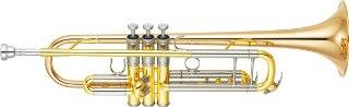 Yamaha YTR8345G02 Bb NEW 'Xeno' Trumpet in Lacquer, Large Bore Gold Brass Bell
