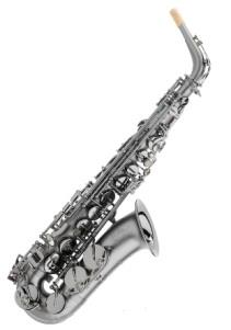 Trevor James TJ 3722BBF Classic Alto Sax Frosted Black with Black keywork