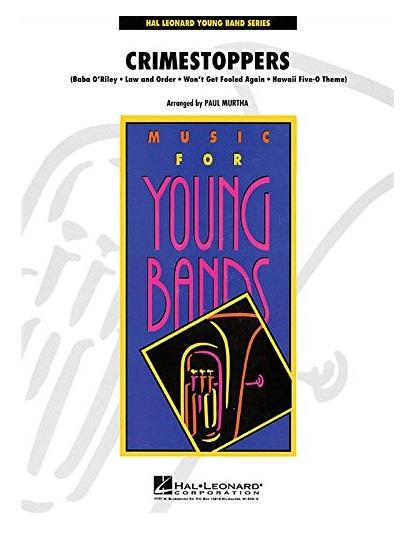 Crimestoppers, Hal Leonard for Wind Band (G3)