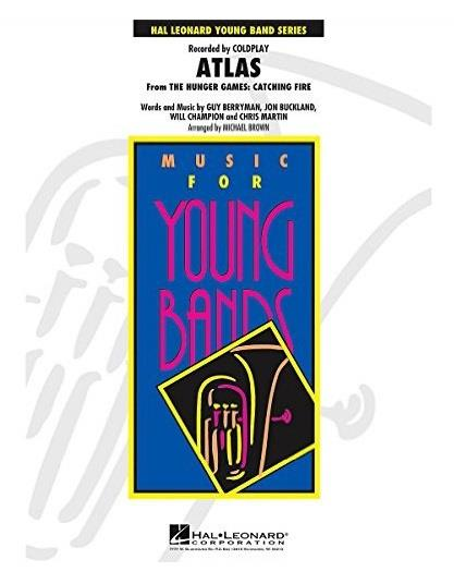 Atlas from The Hunger Games, Hal Leonard for Wind Band (G3)