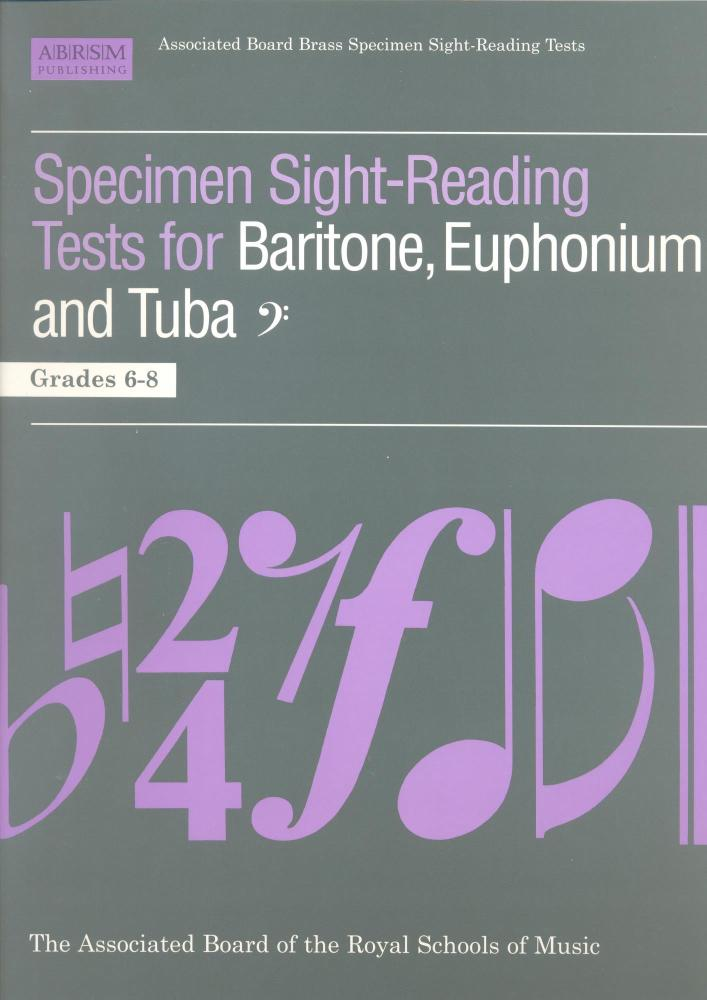 ABRSM Specimen Sight Reading Tests for Baritone, Euphonium and Tuba Grades