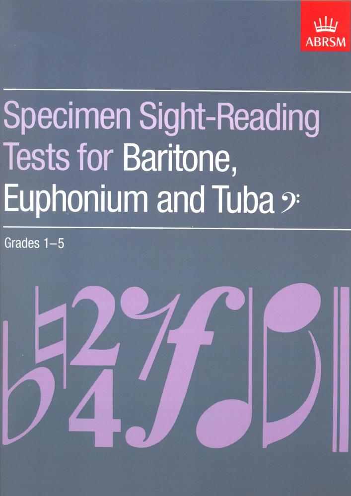 ABRSM Specimen Sight-Reading Tests for Baritone, Euphonium and Tuba, Bass C