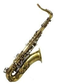 Trevor James 38SC-T569BXS Signature Custom Tenor Saxophone - Raw Hand Buffed,