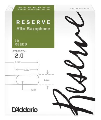 D'Addario Reserve Alto Sax - 10 Pack 2.0