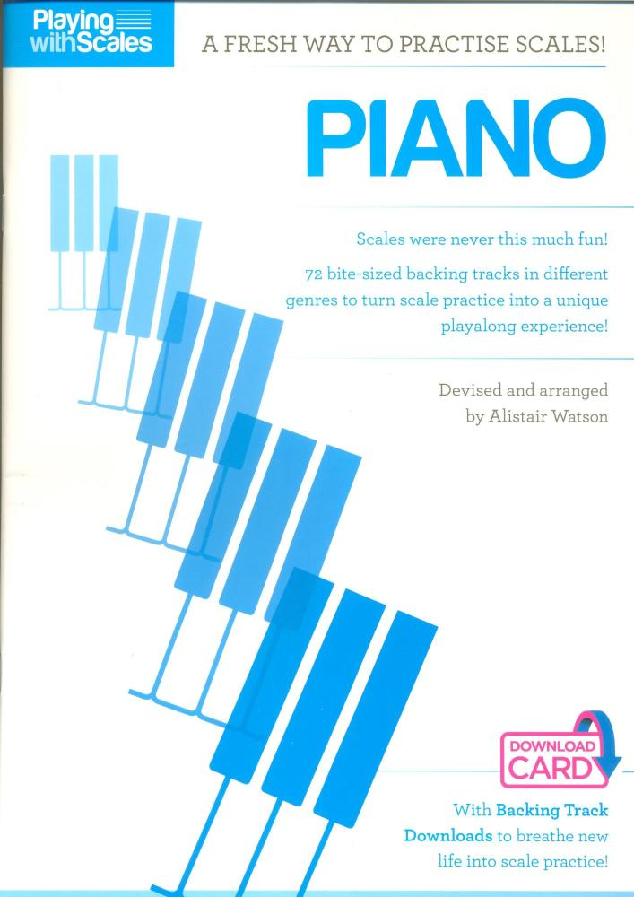 Playing With Scales: Piano Level 1 (Book/Download)