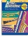 Accent On Achievement: B Flat Clarinet Book 1 (Book/CD-Rom)