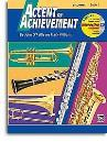 Accent On Achievement: B Flat Clarinet Book 1 (Book/CD-Rom)